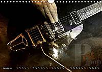 Guitars Grunge Style (Wall Calendar 2019 DIN A4 Landscape) - Produktdetailbild 1