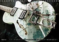 Guitars Grunge Style (Wall Calendar 2019 DIN A4 Landscape) - Produktdetailbild 3