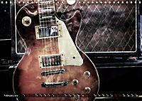 Guitars Grunge Style (Wall Calendar 2019 DIN A4 Landscape) - Produktdetailbild 2