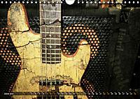 Guitars Grunge Style (Wall Calendar 2019 DIN A4 Landscape) - Produktdetailbild 6