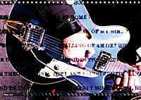 Guitars Grunge Style (Wall Calendar 2019 DIN A4 Landscape) - Produktdetailbild 5