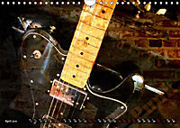Guitars Grunge Style (Wall Calendar 2019 DIN A4 Landscape) - Produktdetailbild 4