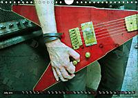 Guitars Grunge Style (Wall Calendar 2019 DIN A4 Landscape) - Produktdetailbild 7