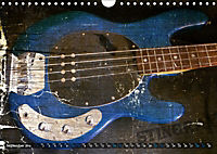 Guitars Grunge Style (Wall Calendar 2019 DIN A4 Landscape) - Produktdetailbild 9