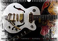 Guitars Grunge Style (Wall Calendar 2019 DIN A4 Landscape) - Produktdetailbild 12