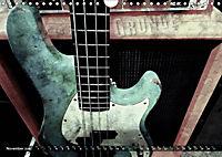 Guitars Grunge Style (Wall Calendar 2019 DIN A4 Landscape) - Produktdetailbild 11