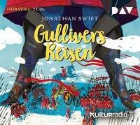 Gullivers Reisen, 2 Audio-CDs, Jonathan Swift