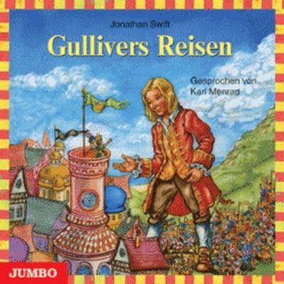 Gullivers Reisen, Audio-CD, Jonathan Swift