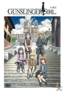 Gunslinger Girls, Vol. 04 (Episoden 11-13 mit Manga Vol. 1)