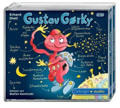 Gustav Gorky Band 1: Gustav Gorky (3 Audio-CDs), Erhard Dietl