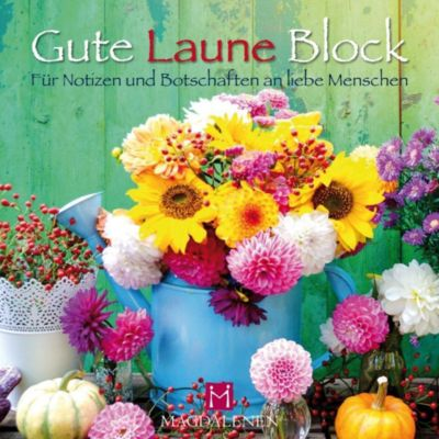 Gute Laune Block Blumenreigen