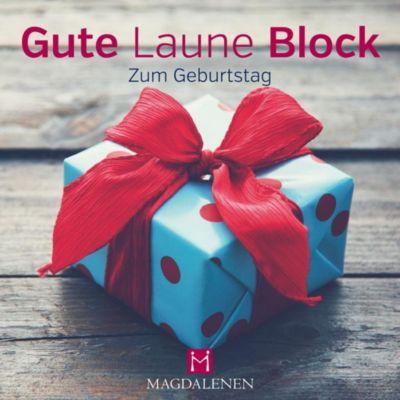Gute Laune Block Zum Geburtstag