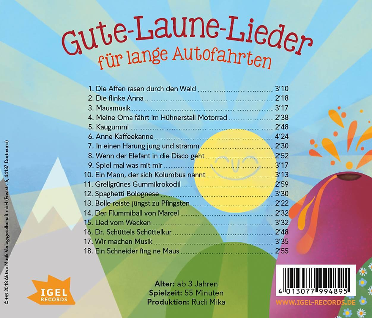 Gute-Laune-Lieder Für Lange Autofahrten CD bei Weltbild.de