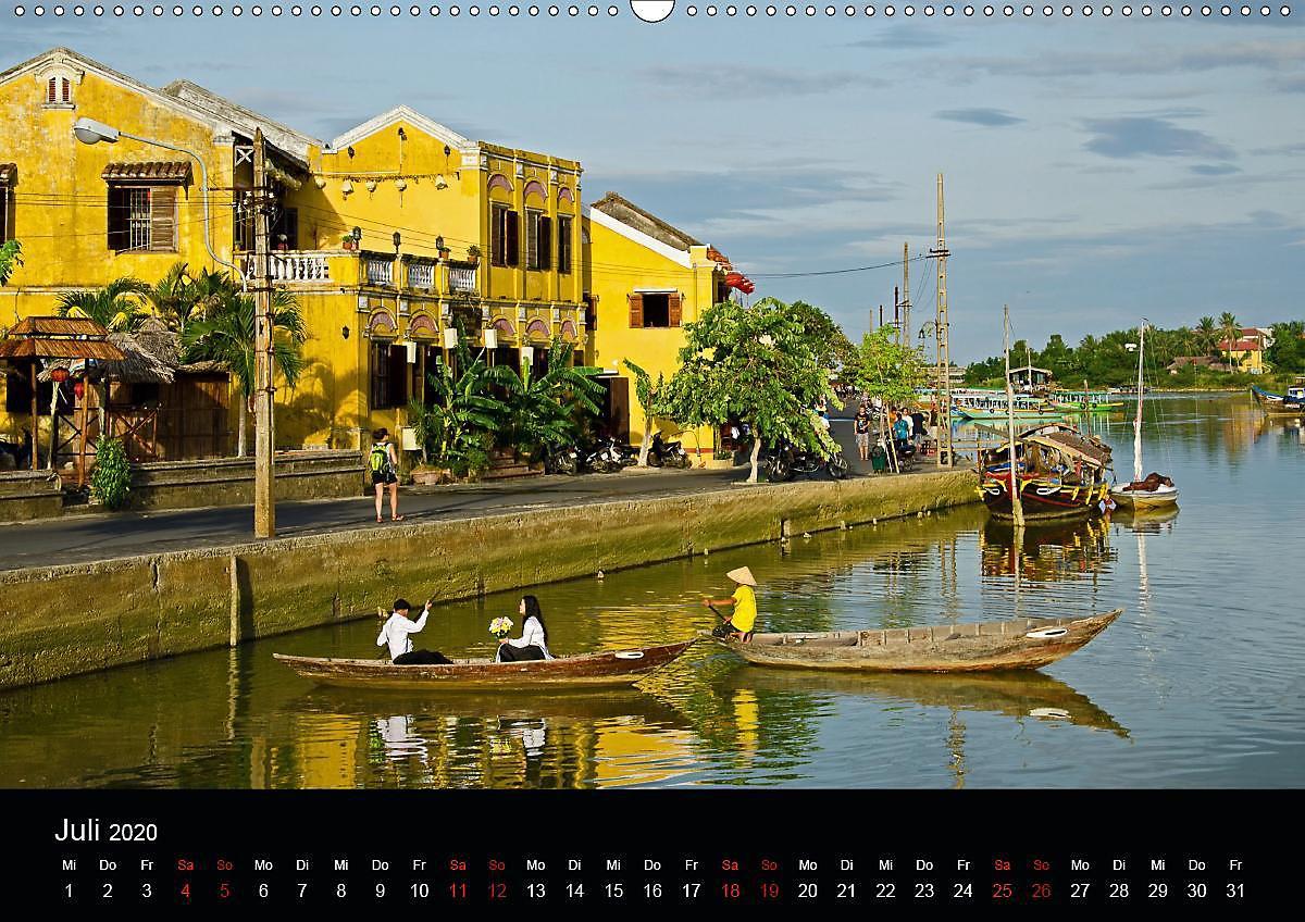 Guten Morgen Vietnam Wandkalender 2020 Din A2 Quer