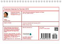 Gutschein-Kalender für Familien 2019 (Tischkalender 2019 DIN A5 quer) - Produktdetailbild 13