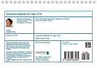 Gutschein-Kalender für Väter 2019 (Tischkalender 2019 DIN A5 quer) - Produktdetailbild 13