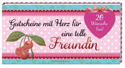 Gutscheine mit Herz für eine tolle Freundin   Weltbild.ch