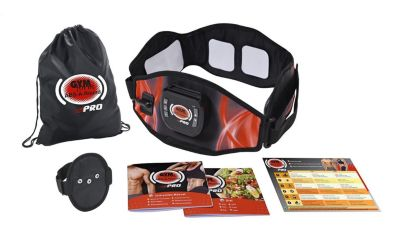 Gymform ABS A Round Pro Fitnessgürtel Gr. L/XL