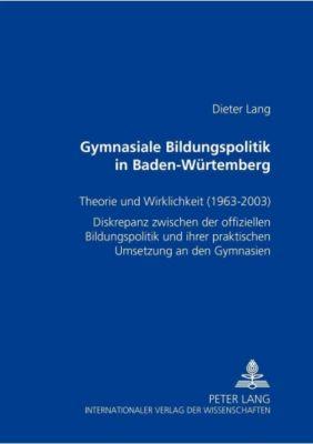 Gymnasiale Bildungspolitik in Baden-Württemberg, Dieter Lang