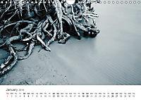 (H2O)12 in B&W (Wall Calendar 2019 DIN A4 Landscape) - Produktdetailbild 1