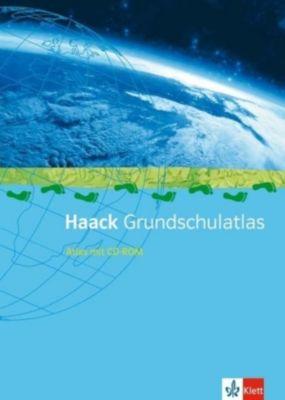 Haack Grundschul-Atlas, Ausgabe Sachsen, m. CD-ROM u. Arbeitsheft