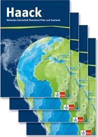 Haack Weltatlas, Ausgabe Rheinland-Pfalz und Saarland: Weltatlas in vier Teilbänden