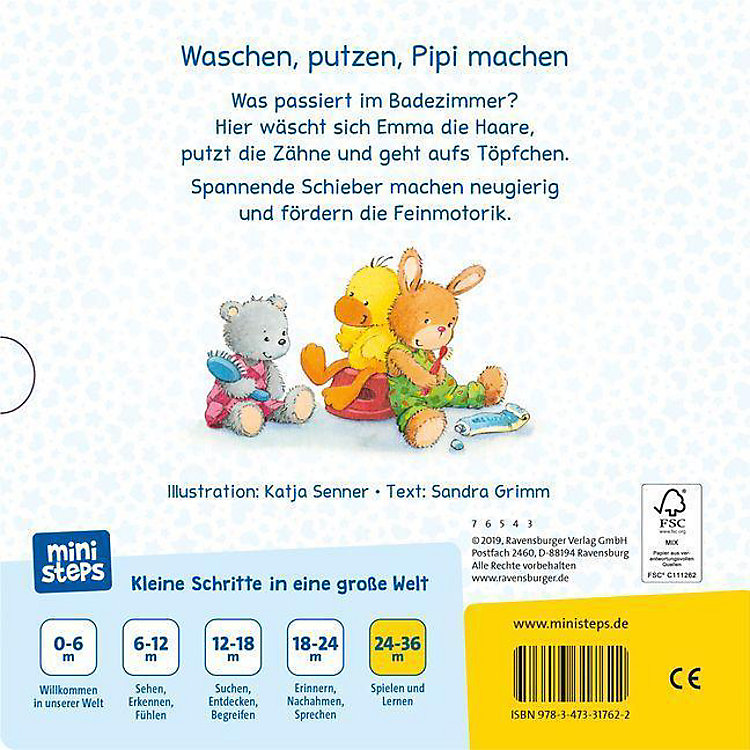 Haare Waschen Zähne Putzen Buch Versandkostenfrei Bei