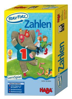 HABA 4537 Ratz-Fatz Zahlen, Lernspiel