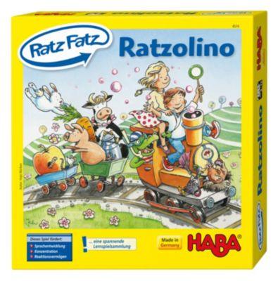 HABA 4574 Ratz-Fatz Ratzolino, Lernspiel