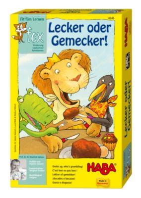 Haba 4646 Lecker oder Gemecker, Lernspiel