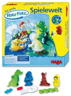 HABA Die große Ratz Fatz Spielwelt, Lernspiele-Sammlung