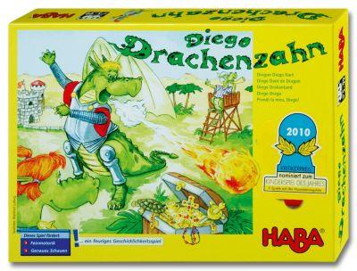 HABA Diego Drachenzahn, Kinderspiel des Jahres 2010!