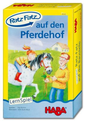 HABA - Ratz Fatz auf den Pferdehof, Lernspiel