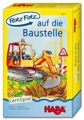 HABA - Ratz Fatz auf die Baustelle, Lernspiel