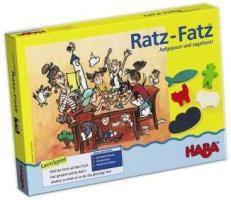 HABA - Ratz-Fatz Aufgepasst und zugefasst, Kinderspiel