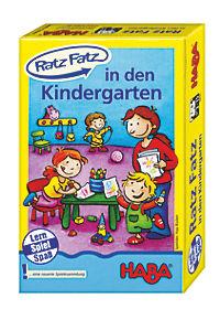 """HABA - Ratz-Fatz """"in den Kindergarten"""", Lernspiel - Produktdetailbild 1"""