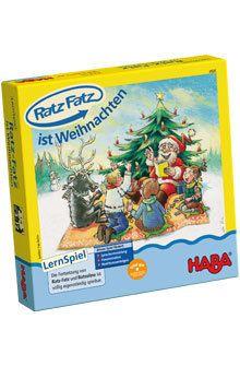 HABA - Ratz-Fatz ist Weihnachten, Lernspiel