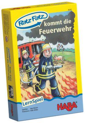 HABA - Ratz Fatz kommt die Feuerwehr, Lernspiel