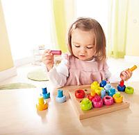 """HABA Steckspiel """"Farbkringel"""" - Produktdetailbild 1"""