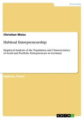 Habitual Entrepreneurship, Christian Weiss