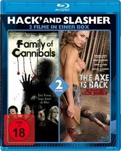 Hack' And Slasher Blu-Ray Box (2 Filme), Hodder, Todd, Berryman, Ricci, Robinson, Various