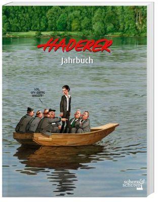 Haderer Jahrbuch 10 mit Stickerbogen, Gerhard Haderer