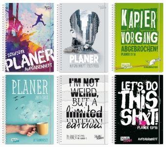 Häfft-Planer Premium 2017/2018 Schülerkalender A5, Andreas Reiter, Stefan Klingberg