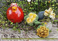 Häkelimpressionen - Gehäkelte Ideen für Haus und Garten (Wandkalender 2019 DIN A4 quer) - Produktdetailbild 4