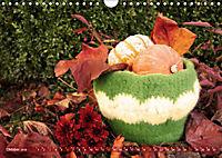 Häkelimpressionen - Gehäkelte Ideen für Haus und Garten (Wandkalender 2019 DIN A4 quer) - Produktdetailbild 10