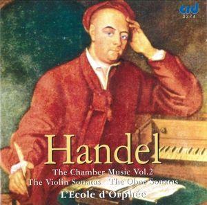 Händel Chamber Music Vol.2, Ecole D'Orphee