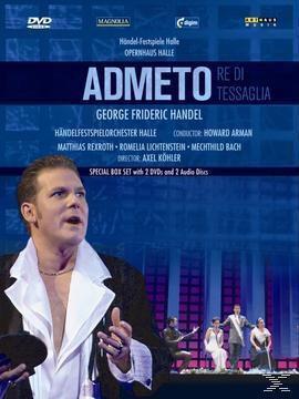 Händel, Georg Friedrich - Admeto - 2 Disc DVD, Köhler, Rexroth, Lichtenstein