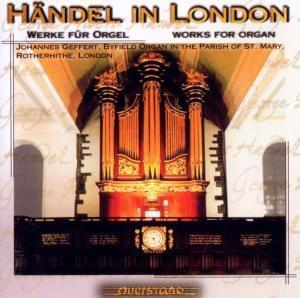 Händel In London-Orgelwerke, Johannes Geffert