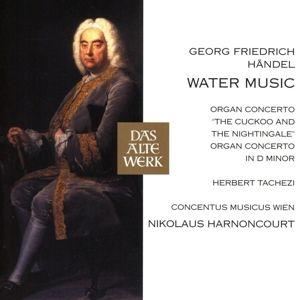 Händel: Wassermusik / Orgelkonzerte (DAW), Nikolaus Harnoncourt, Cmw, Herbert Tachezi