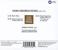 Händel: Wassermusik / Orgelkonzerte (DAW) - Produktdetailbild 1